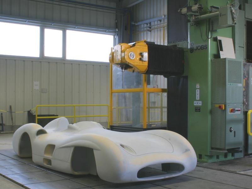 CNC-Fréza 6x3x3m, 6 osá