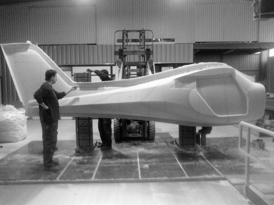 CNC-Fräsen von Flugzeugen