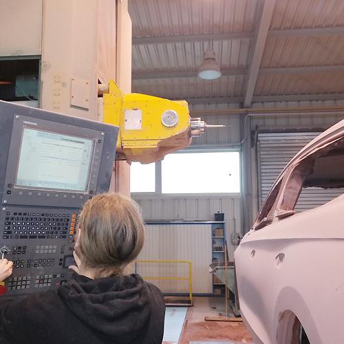 CNC-Fräsen eines Prototypen