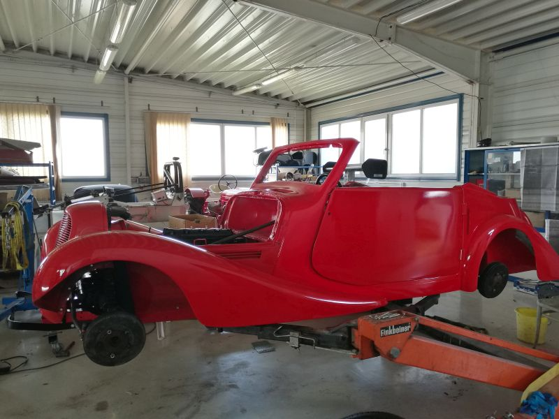 Restaurierung, Renovierung und Lackierarbeiten