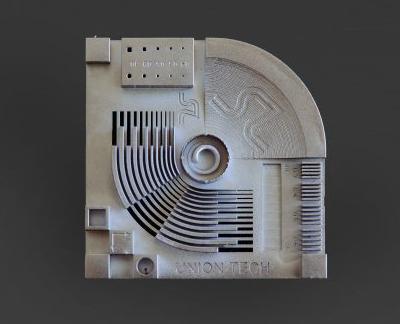 3D tisk SLA Metal Clad Hybrids (elektrochemicky pokovování)